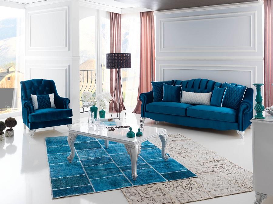 pastel tonlarda mobilya