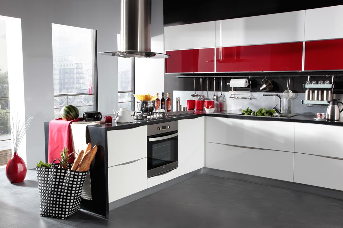 Mutfak Dekorasyonlarında Modern Çizgiler