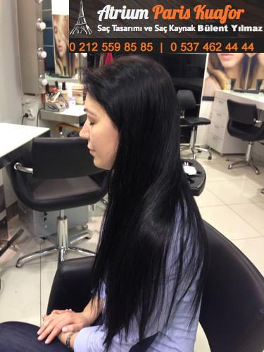 boncuk kaynak saç modelleri