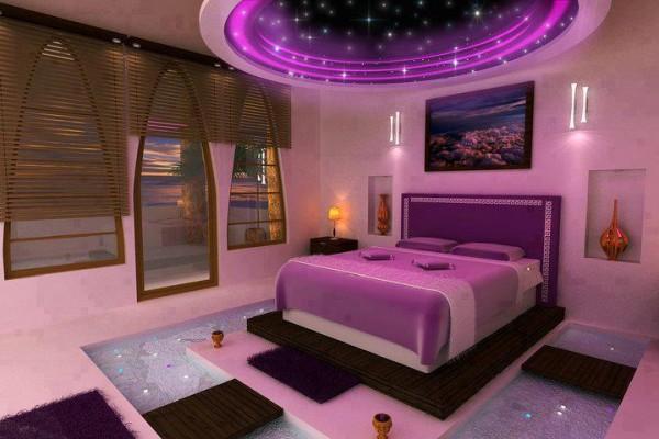 Yatak Odasında Renklilik