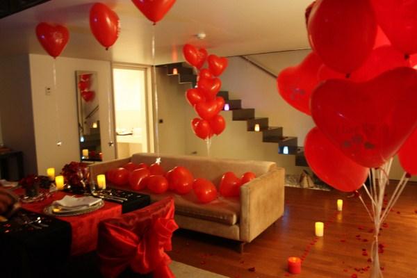romantik dekorasyonlar