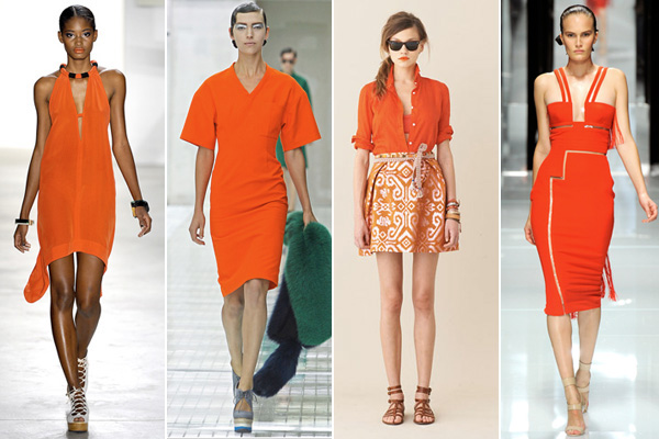 turuncu modası