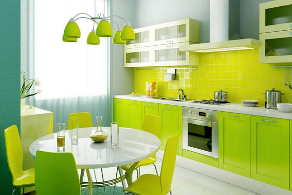yeşil mutfak